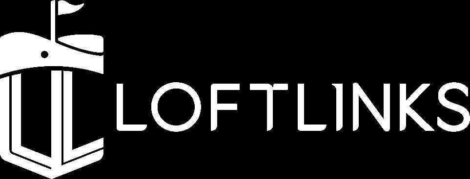 Loftlinks white logo