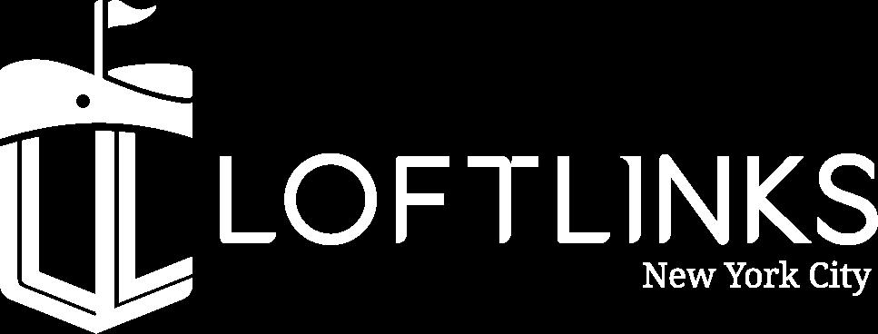 Loftlinks full logo white